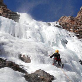 Cascata di ghiaccio - Rèmy Maquignaz