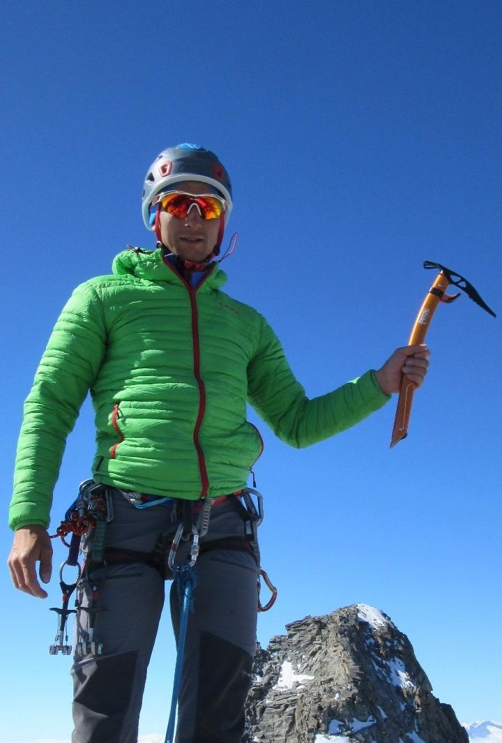Alpinismo Jacopo Glarey Guida Alpina Cogne