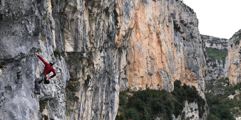 Jacopo Glarey arrampicata sportiva